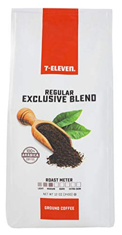 7-Eleven Ground Coffee, Single Bag, 12 Ounce (Exclusive Blend)