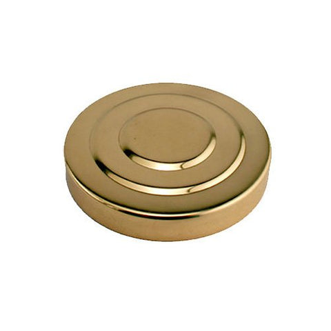 Polished Brass Replacement Beer Tower Cap For 3 Diameter Tower