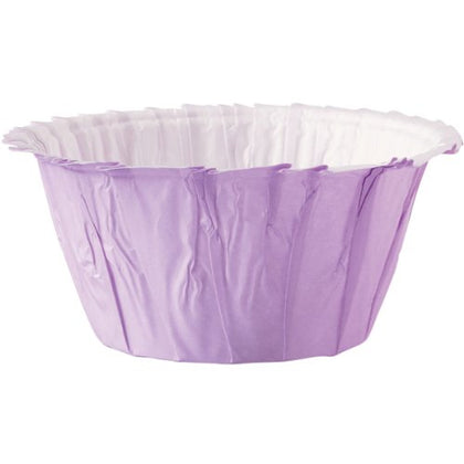 Wilton Lavender Ruffle Cupcake Cups, 24-Pack- Discontinued By Manufacturer