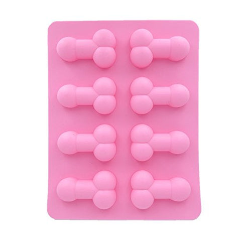 Cecii Chocolate Molds, Candy Molds, Silicone Molds, Soap Molds, Silicone Baking Molds-8Pcs Penis