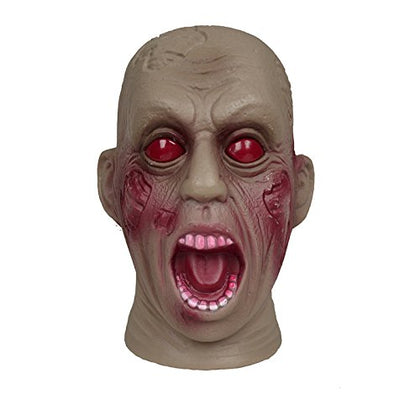 Animated Zombie Head, Assorted - Styles Vary