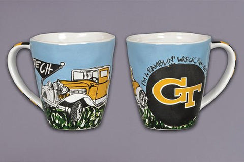 Collegiate Spirit Mug (Georgia Tech Yellow Jackets)