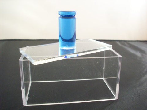 Blue Round Rod Handle Single Acrylic Press Spam Musubi Non Stick Sushi Maker