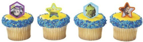 Toy Story Cupcake Rings. 24 Count Cupcake Toppers