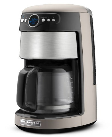 Kitchenaid Kcm222Cs Silver And Stainless Steel Front Coffee Maker, 14 Cup Architect Series