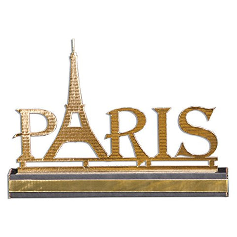 Chic Paris Centerpiece Kit, Set Of Four, 13 Inches High X 18 Inches Wide Paris Prom Theme Decoration
