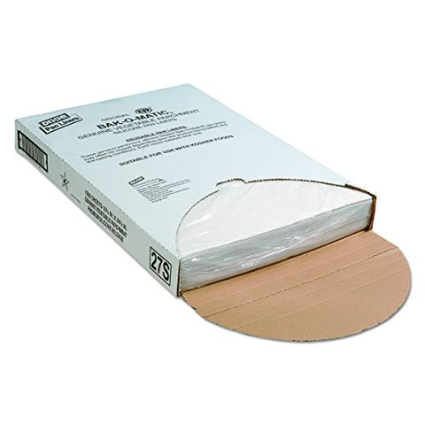 Dixie 27S Yellow-Label Parchment Pan Liner, 16.38  Length X 24.38  Width, White (Case Of 1,000)