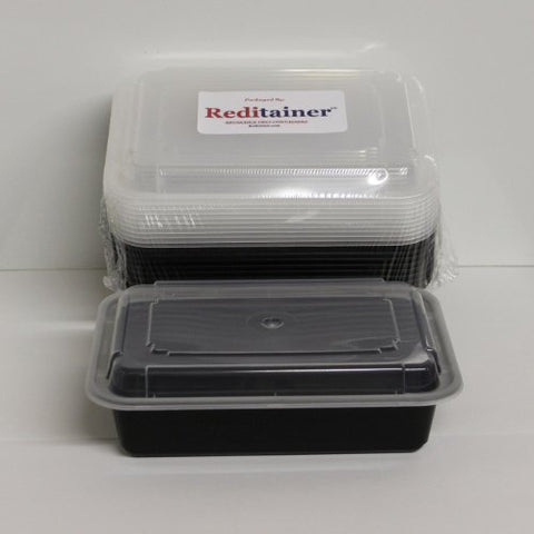 Reditainer Food Storage Containers With Lids (20, 6  X 8  Deep)