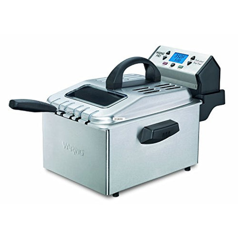 Waring Pro Df280 Professional Deep Fryer, Brushed Stainless (Certified Refurbished)