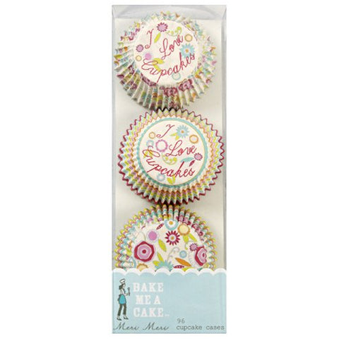 Meri Meri Mini Baking Cups I Love Cupcakes,