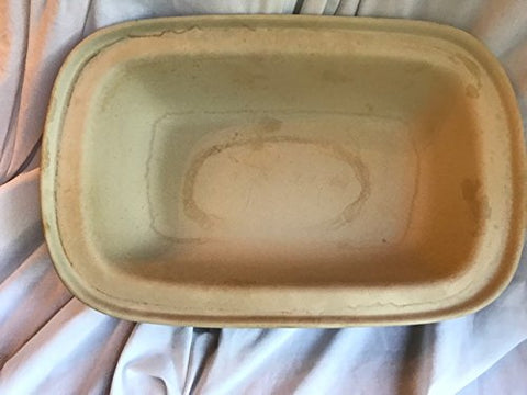 Pampered Chef Family Heritage Stoneware Rectangular Lid/Bowl #1435
