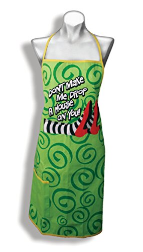 Spoontiques Drop A House On You Apron, , Green