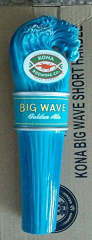 Kona Brewing Co. Big Wave Golden Ale Shotgun Mini Beer Tap Handle