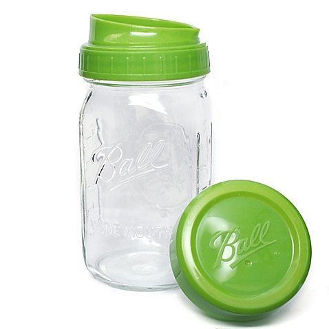 Ball Pour, Measure And Store Lid With Mason Jar (1)