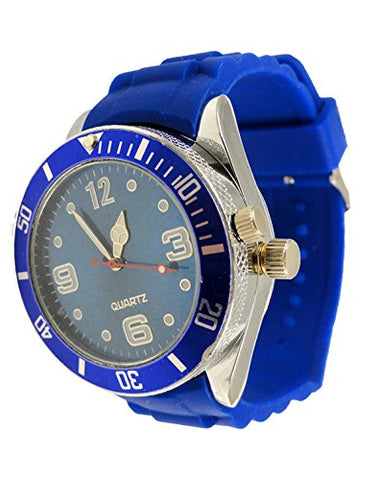 2-In-One Watch With Secret Hidden Herb And Spice Grinder With Bracelet (Blue)