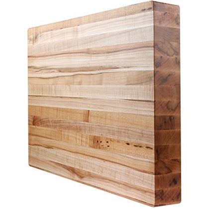 Kobi Blocks Maple Edge Grain Butcher Block Wood Cutting Board 20X26X1.5