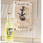 Mud Pie Anchor Bottle Opener, 9 X 6, Silver