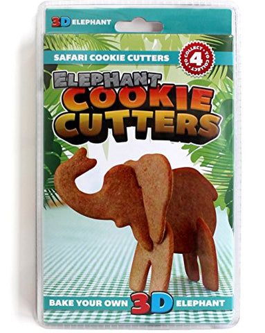 Suck Uk 3D Safari Cookie Cutters