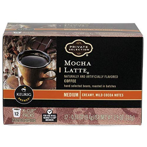 Private Selection Mocha Latte Coffee K-Cups 12 Ct