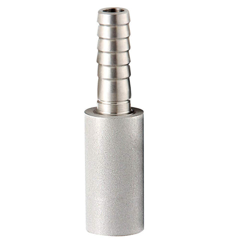 "Joywayus 2 Micron Diffusion Stone 1/4"" Barb Beer Oxygenation Stainless Steel Carbonating Stone For Home Brew"