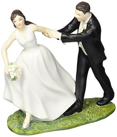 Weddingstar A Race To The Altar Couple Figurine