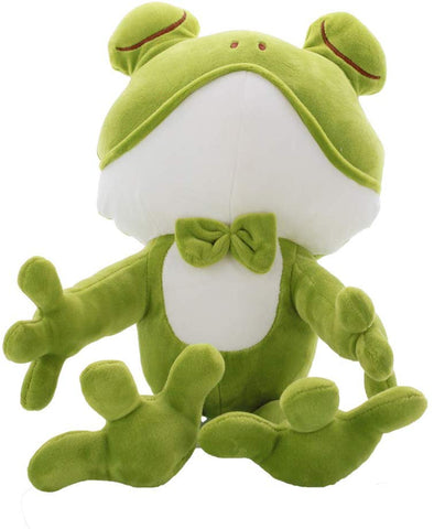 Long-Legged Frog Plush Stuffed Animal - Soft Doll Throw Pillows  Gifts For Kids  Cyan - Measures 17 Inch