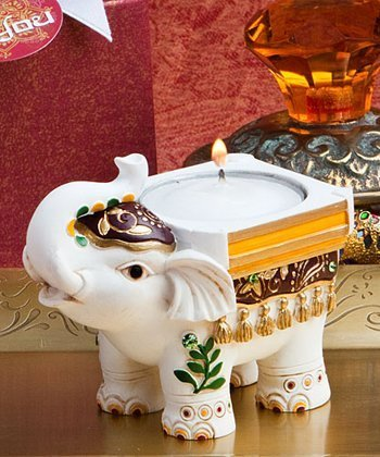 Good Luck Elephant Candle Holders, 24
