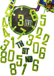 Teenage Mutant Ninja Turtles Jumbo Banner With Age Stickers