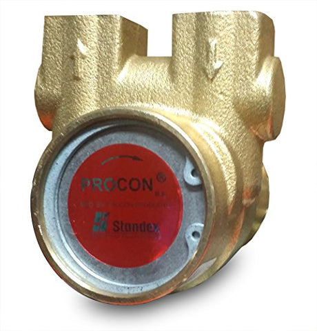 112A125F11Xx - Procon Brass, 125 Gph Clamp-On, For 1/3 Hp