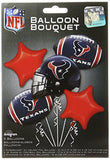 Anagram Bouquet Texans Foil Balloons, Multicolor