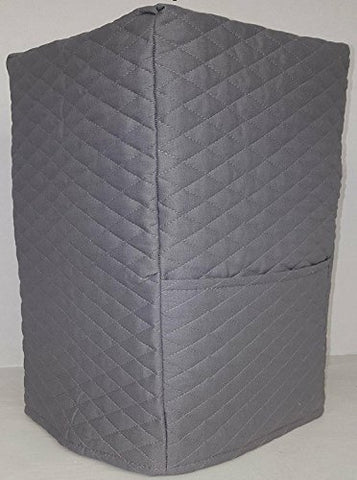 Quilted Coffee Maker Cover (Gray)