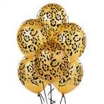 Leopard Spots Latex Balloons Party Accessory