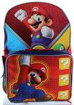 Nintendo Little Boys' Super Mario Backpack With Lunch Box