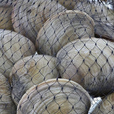 Royal Black Plastic Mesh Produce And Seafood, 24, Package Of 100