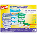 Matchware Food Containers 28 Count