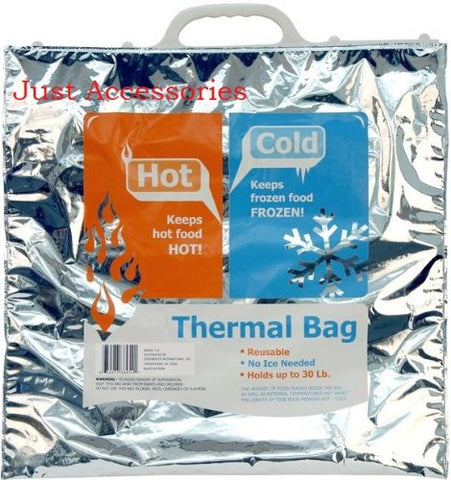 Thermal Bag! Reusable! No Ice Needed! Holds Up To 30 Lbs
