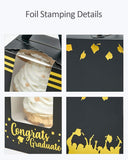 Yotruth Graduation Cupcake Boxes With Academic Hats Tassels Cap For School Graduation Favor 25 Sets (Choice Series)