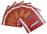 Game Day Football Theme Party Popcorn Snack Boxes