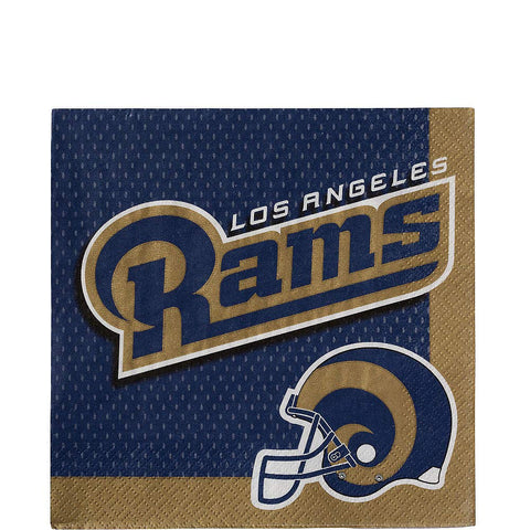 Los Angeles Rams Lunch Napkins 36Ct