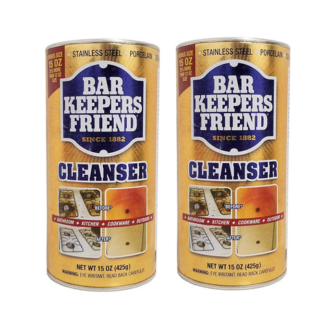 Bar Keepers Friend Powdered Cleanser & Polish 15-Ounces