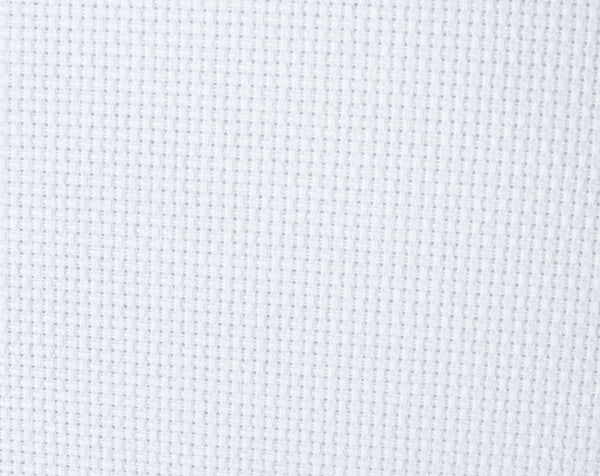 14 Count Aida Cloth | White