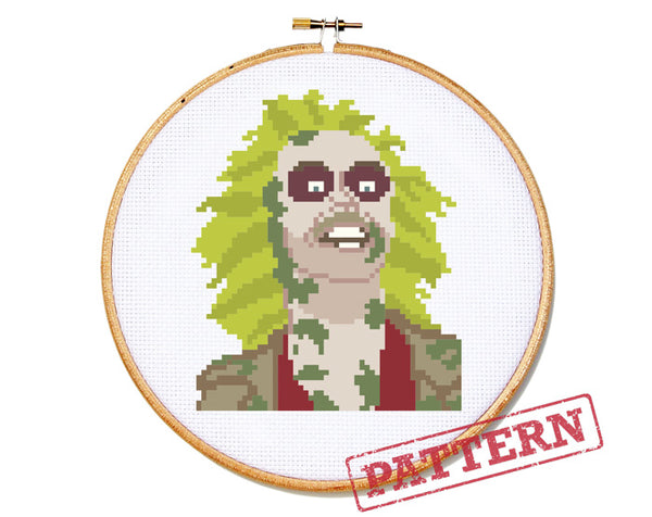 Beetlejuice Cross Stitch Pattern