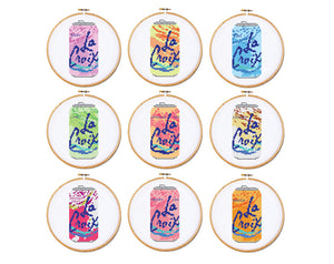8c9ad9d7f La Croix Set of 9 Cross Stitch Patterns