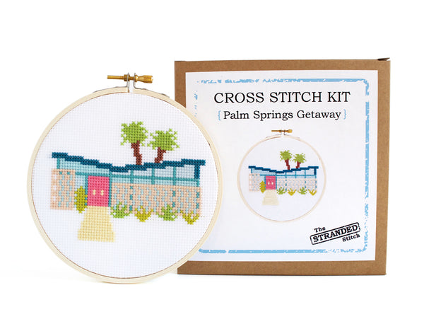 Palm Springs Getaway Cross Stitch Kit