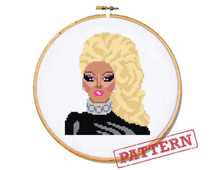RuPaul Cross Stitch Pattern