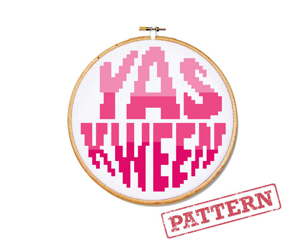 Yas Kween Cross Stitch Pattern