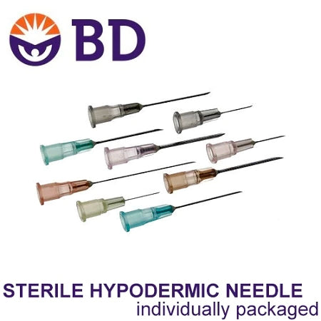 "BD Interglide Hypodermic Needle 20 X 1.5"" (10 Pack)"