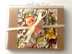 Doll Lover Set Boxed Note Cards Set 4 Cards Original Art Photography Prints