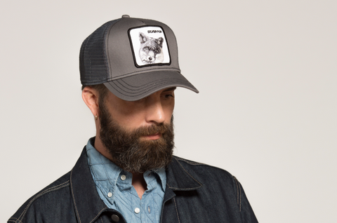 Goorin Bros Silver Fox Animal Farm Trucker Hat