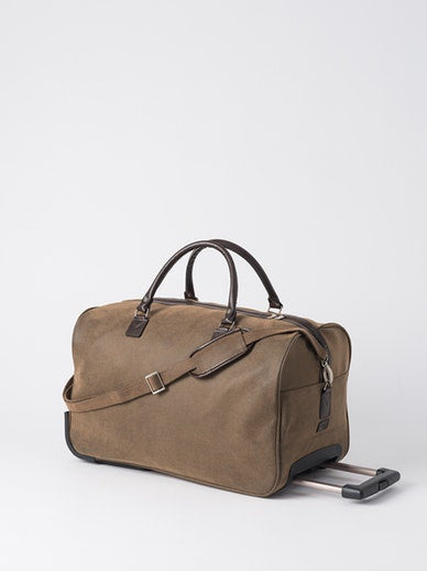 Angola Trolley Bag - Brown